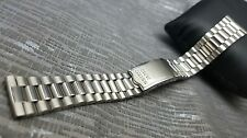 19mm Vintage seiko watch stainless steel bracelet strap band