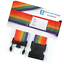 2-4-Pack-Travel-Luggage-Suitcase-Strap-Rainbow-Color-Belt-Baggage-Backpack-Bag thumbnail 3