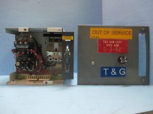 "Allen Bradley 2100 Centerline Size 1 Starter 30 Amp Breaker 12"" MCC Bucket HMCP"