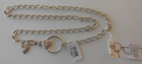 L  NWT   B50470 Brighton ENCHANTE Chain Charm Belt Sizes M