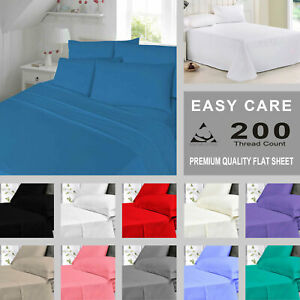 United Fitted Sheet 100% Egyptian Cotton Single Small Double Super King Size Bed Sheets Fitted Sheets