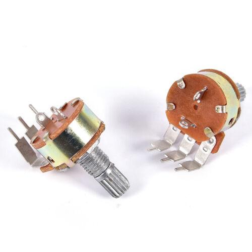 5PCS WH148 Single Potentiometer 500K Potentiometer With Fine B500K Switch PinHWD