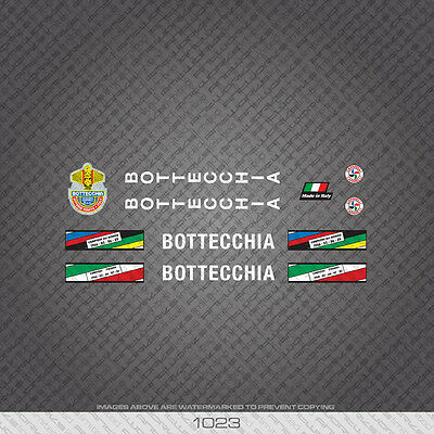 Decals Transfers 01023 Bottecchia Bicycle Stickers
