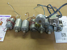 Small Motor Assortment Removed From Printers Scanners Etc