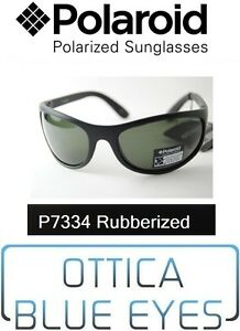 Occhiali-da-Sole-POLAROID-Polarized-Sunglasses-P7334A-BLACK-9ca-Sonnenbrille-GUM