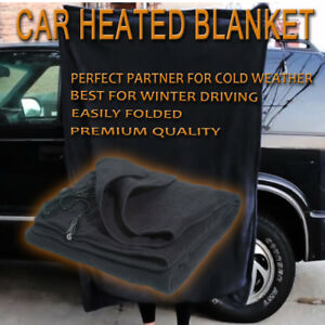 Image Is Loading Zone Tech Car Heated Polar Fleece Electric Travel