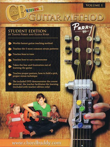 ChordBuddy Guitar Method Volume 1 Student Book Chord Buddy Songbook ...