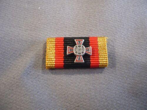Bundeswehr Ehrenkreuz Silber hervorragende Einzeltat Bandschnalle mit Auflage