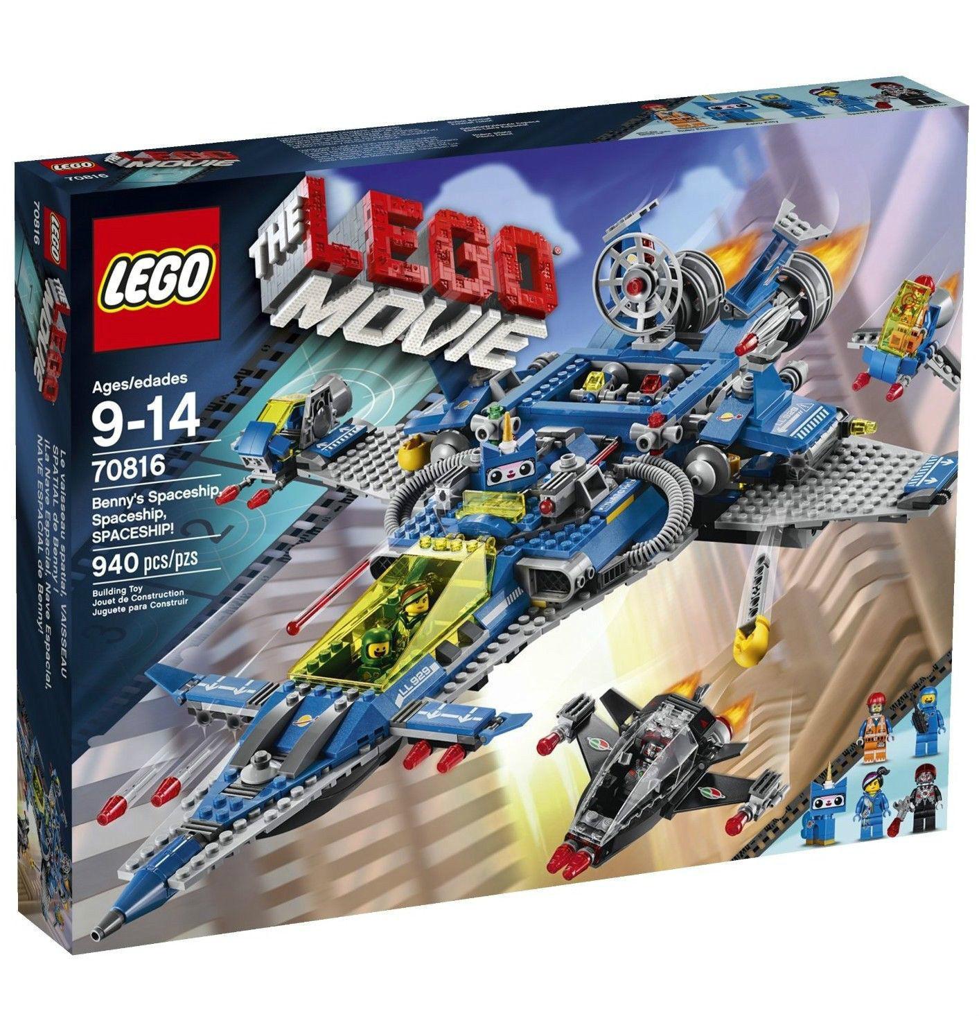[ LEGO ] The Lego Movie - 70816 - Benny's Spaceship, Spaceship, SPACESHIP! - NEW