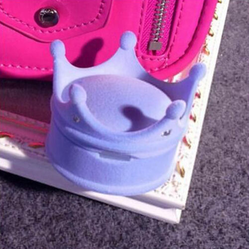 Fashion Cute Princess Crown Ring Jewelry Box Ring//earrings Wedding Gifts Box