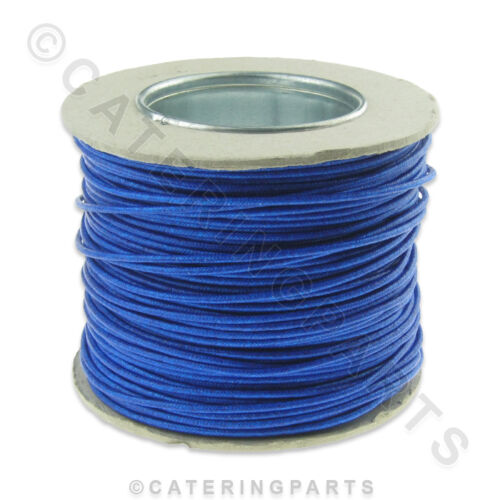 100 METRE REEL OF BLUE HEAT RESISTANT WIRE CABLE 1.5mm x 100m HIGH TEMPERATURE
