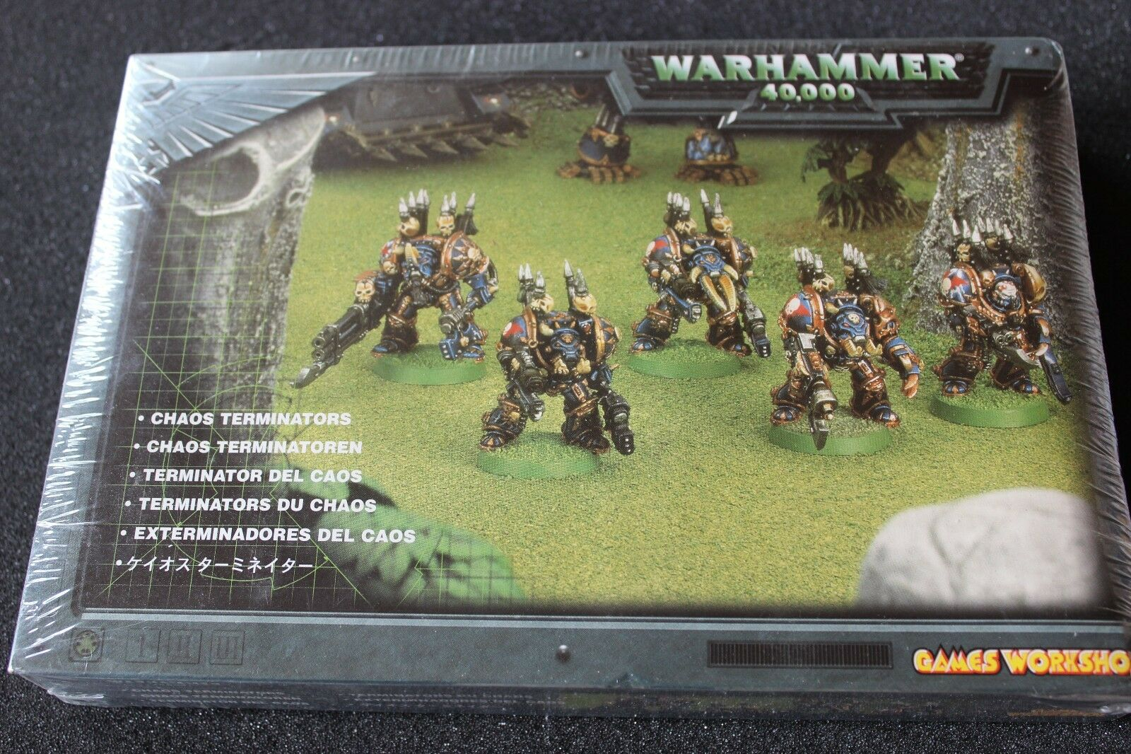 giocoS lavoronegozio Warhammer 40K  Chaos spazio Marines terminazioni SQUAD METtuttiO NUOVO CON SCATOLA GW  acquista online oggi