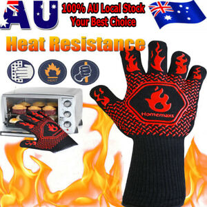 HOMEMAXS Extreme Heat Resistant BBQ Oven Gloves 1472℉