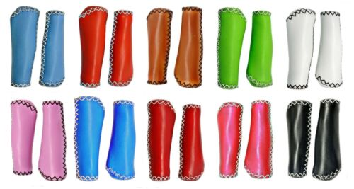 Beach Cruiser Bike Fixed Gear Leather Handlebar Grips for Fixie Urban Bicycle