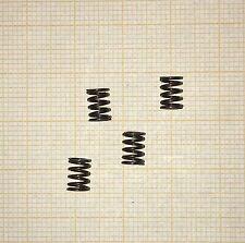 4 x Druckfeder, Länge 6,8mm, Außen Ø4,63mm, Drahtstärke 0,63mm