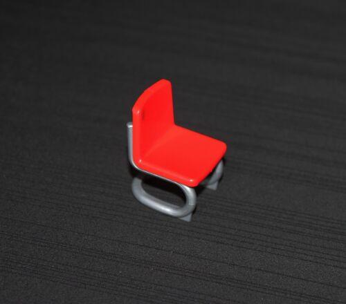Playmobil époque victorienne chaise rouge de la maitresse d/'école 5314