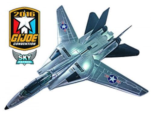 G.I Joe 2016 Exclusive 3 3 4 Sky Patrol Sky Striker by Hasbro