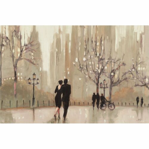An Evening Out Neutral Handed Oil Painting 19W*12H with actual painting pics