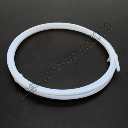 10m Length 1//8/'/' OD 3.18mm ID 1.68mm PTFE F4 Tubing Tube Pipe hose