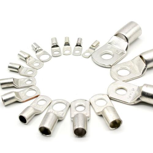 10 Stück Rohrkabelschuhe 10mm² M6 Kabelschuh Rohrkabelschuh unisoliert SC10-6