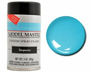 Testors Model Master Flat Red Enamel Spray Paint Can 3 Oz 1250
