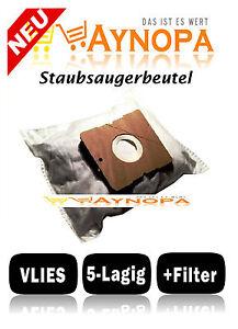 10 Staubsaugerbeutel für Electrolux Z 3480 2 Filter Z 3482 Staubbeutel