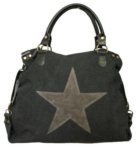 pelle in Bag Star Tote mano Dauomo di Borsa a vwannX