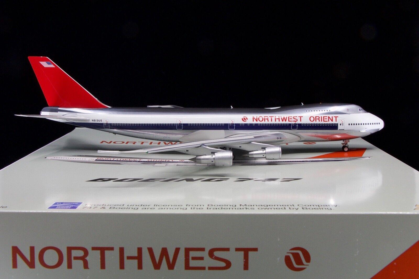 JFOX 1/200 Northwest Orient Airlines 747-200 N613US