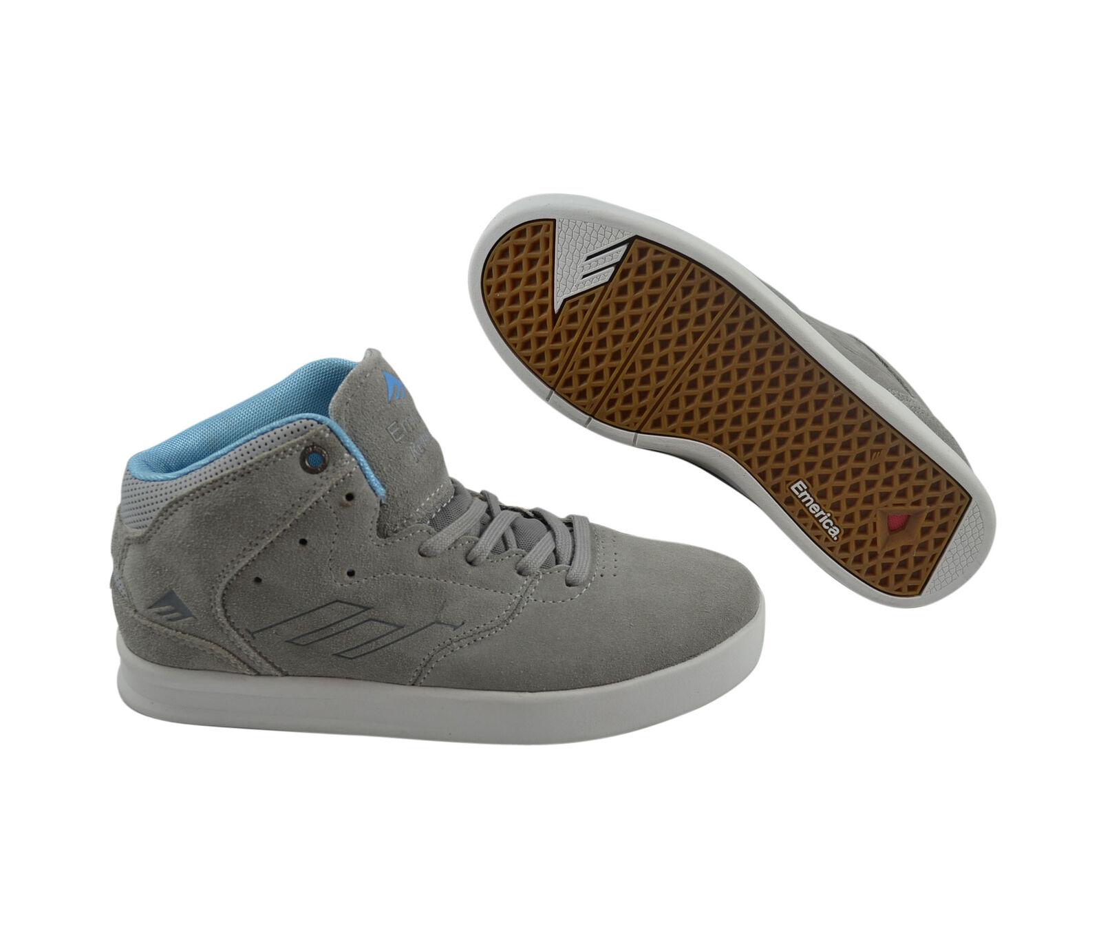 Emerica The Reynolds Grau/Blau Skater Turnschuhe/Schuhe grau