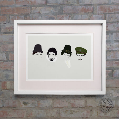 Rowan Atkinson Minimalist Poster Wall art Posteritty Baldrick BLACKADDER