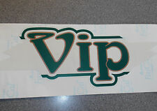 Coachman old style Vip name sticker graphic decal self adhesive PDC4B
