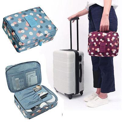 New Travel Toiletry Wash Cosmetic Makeup Storage Hanging Organizer Bag Case