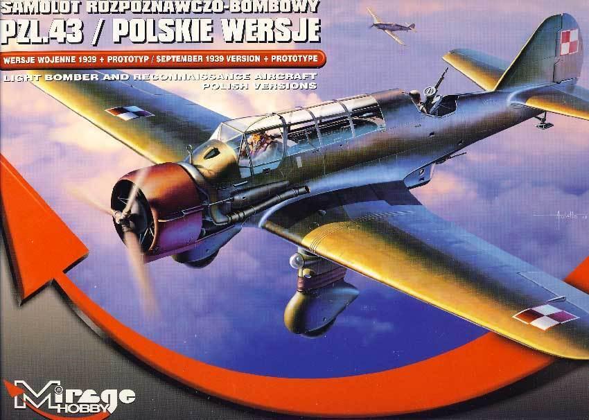 Mirage - Pzl.43 Septiembre 1939 + Predotipo Polskie Polonia