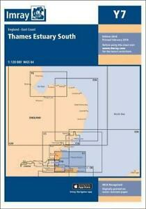 Imray-Chart-Y7-Thames-Estuary-South-Y-Charts-by-Imray-NEW-Book-FREE-amp-Fast