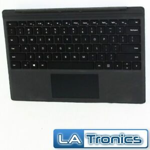 Details about Genuine Microsoft Surface Pro 4 Type Cover Backlit Keyboard  1725 Tested