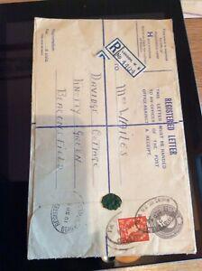 B9h-Registered-Letter-Envelope-Only-Stamped-Franked-1954