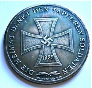 WW2-GERMAN-COMMEMORATIVE-COLLECTORS-REICHSMARK-COIN-039-39