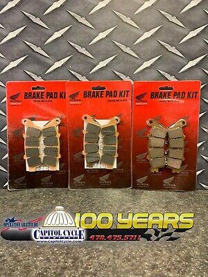 Fr+R Sintered Brake Pads 2001-2017 2016 2015 2014 2013 HONDA GL 1800 A Goldwing