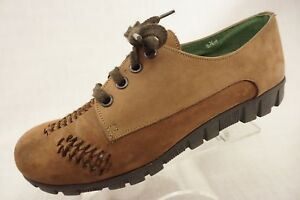 14413e6d2a9 Famolare Get Distance Italy Women s 6.5M Brown Nubuck Lace up Shoe ...