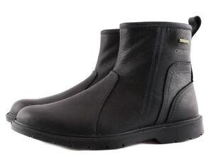 Grisport 40410oV8LG Nero Black Oliato Stivaletto Uomo Man Made in Italy Leather
