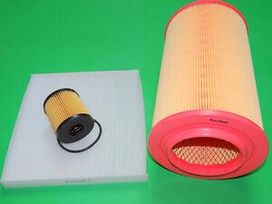Ölfilter Luftfilter Pollenfilter Citroen Jumper III 2.2 HDi (74 & 88kW)