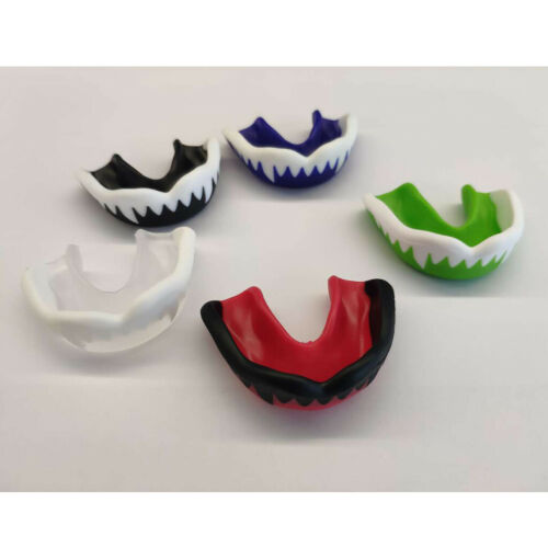 Boxing Mouthguard Adult EVA Mouth Guard MMA Teeth Protector with Case