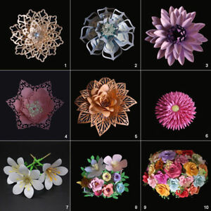 3D Flower Cutting Dies DIY Stencil Scrapbooking Paper Card Embossing Handicraft