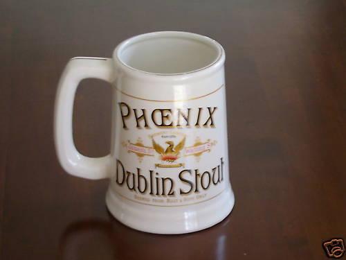 Tankard Irish Phoenix Dublin Stout Stein// Very Nice Gift Shed Bar Man Cave