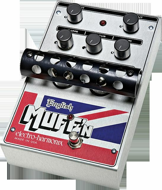 Ehx Electro Harmonix English Muffin Tubo distorsión distorsión distorsión   Preamplificador De Guitarra Fx Pedal be3e4a