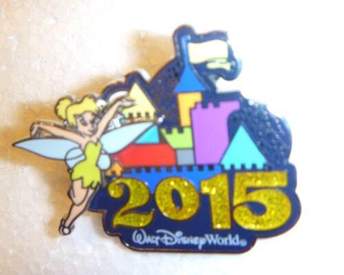 Sleeping Beauty Castle Tinker Bell Disney pin Walt Disney World ® 2015