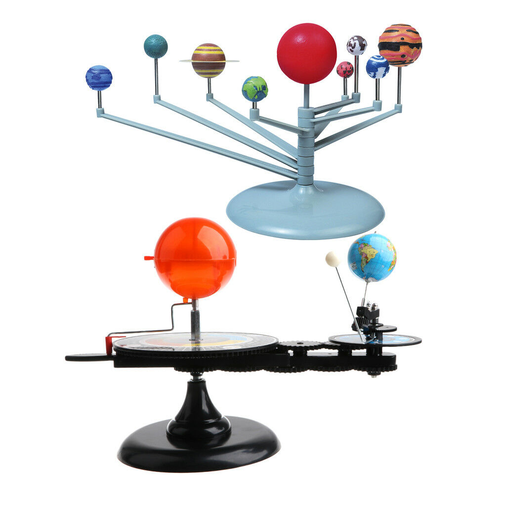 Sun Earth Moon Orbital & Solar System 8 Planets Planetarium Model DIY Kits