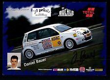 Daniel Bauer Autogrammkarte Original Signiert Motorsport +G 15917