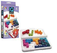 IQ XOXO Jeu de réflexion Jeux de logique Entraîneurs 1 Joueur Smart Games SG444