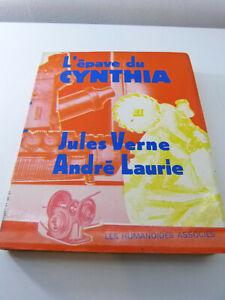 l'épave du cynthia , jules verne ,andré laurie  (pie9)